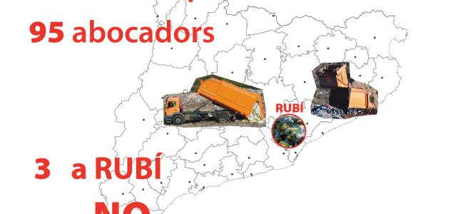 Divendres 20 de març manifestació per dir NO més abocadors a Rubí