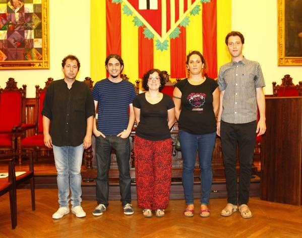 Jordi Muntan (Rubí), Josep Maria Osuna (Ripollet), Mireia Sànchez (Barberà), Núria Gibert (Sant Cugat) i Joan Moyà (Castellar)