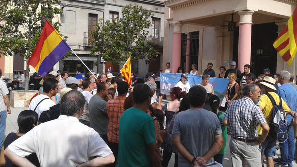 La Marxa contra l'atur, la precarietat, la pobresa i la desigualtat arriba a Rubí // Foto: AUP