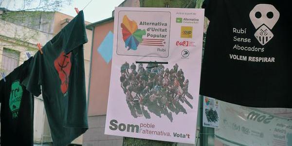Agost 2015: l'AUP treballa sobre el Pla d'Extractives de cara al setembre