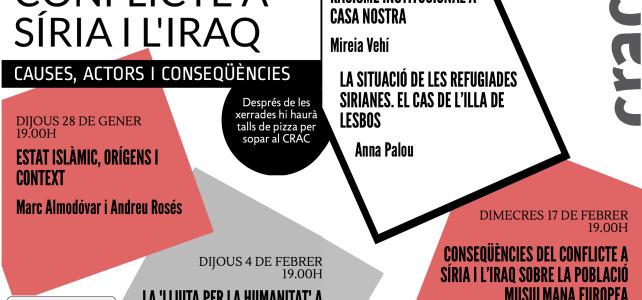 Cicle de xerrades 'Entendre el conflicte a Síria i l'Iraq'