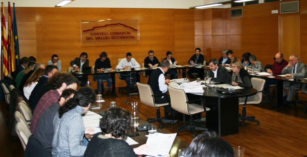 Ple Consell Comarcal gener