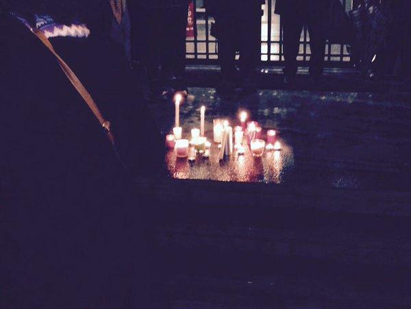 Concentració espelmes