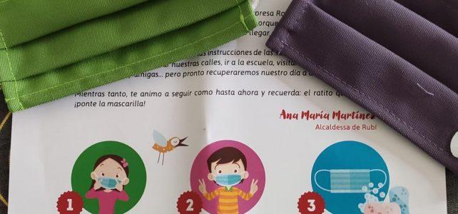 Comunicat en relació a la proposta del govern a l'oposició per a repartir personalment mascaretes infantils